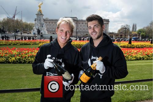 Alex Mytton and Jamie Laing 2