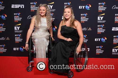 Jordanne Whiley and Hannah Cockroft 1