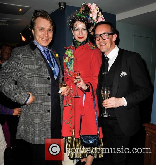 Guest, Anna Kompaniets and Darren Charman 1