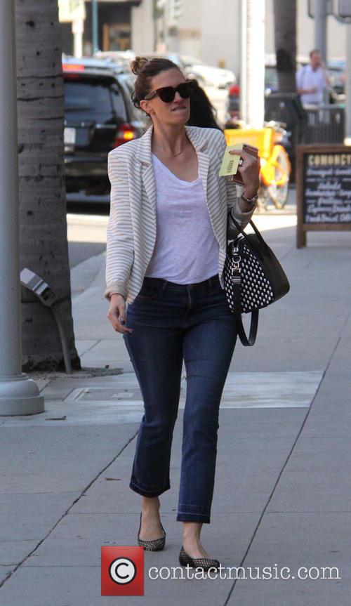 Rhea Durham shopping in Beverly Hills