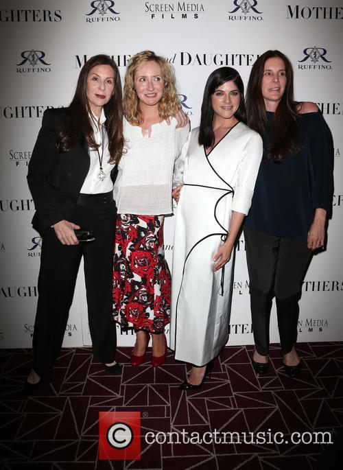 Mary Aloe, Danielle James, Selma Blair and Amy Williams 9