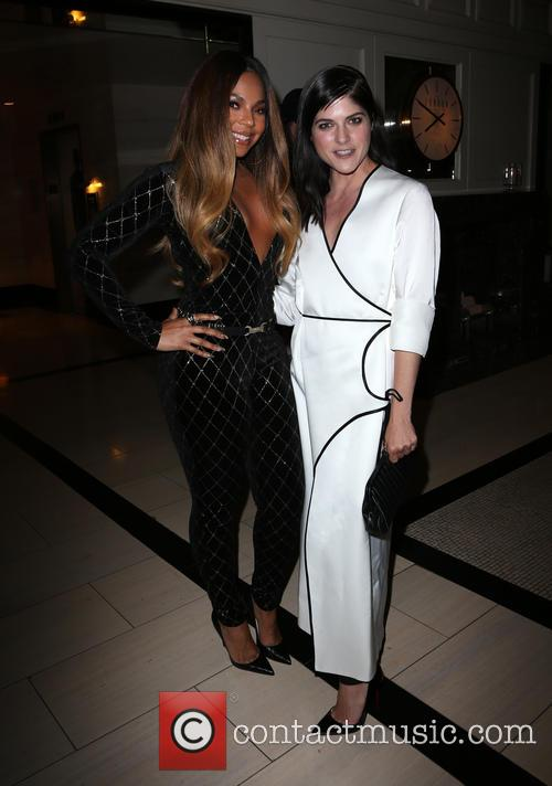 Ashanti and Selma Blair 2