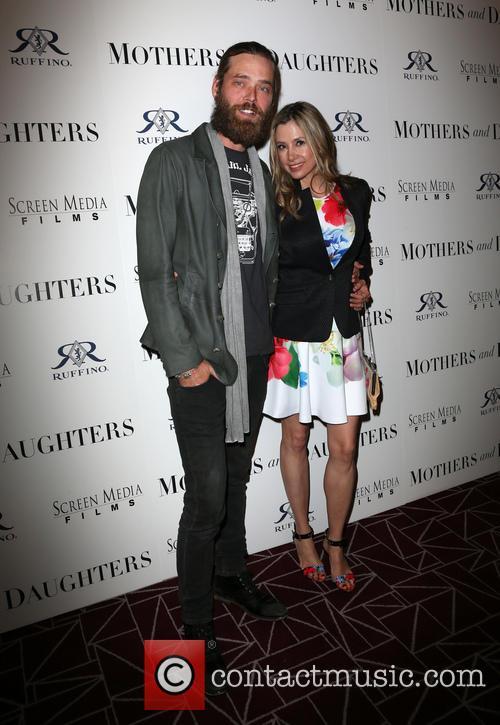 Christopher Backus and Mira Sorvino