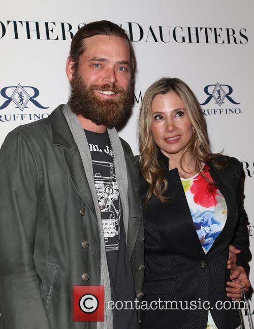 Christopher Backus and Mira Sorvino 11