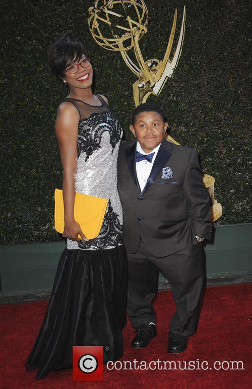 Ebonice Atkins and Emmanuel Lewis 1