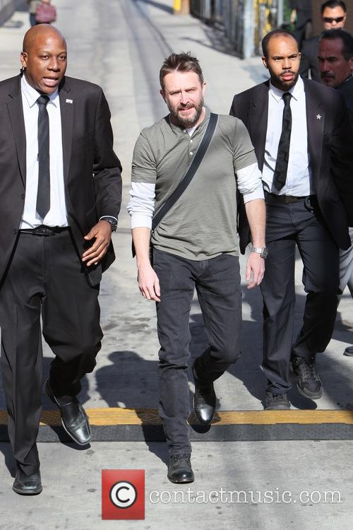 Chris Hardwick seen arriving to the ABC studios