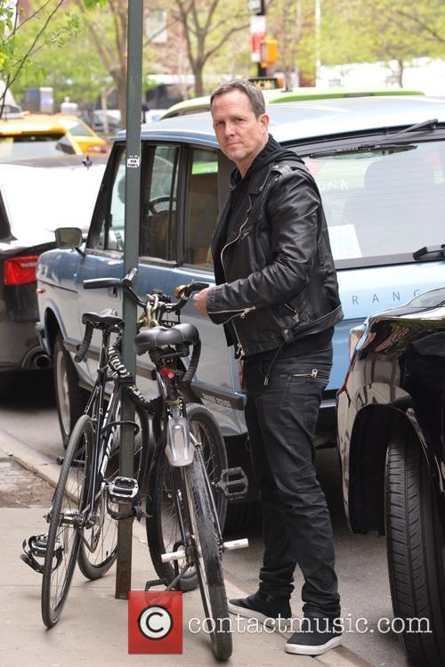 Dean Winters out and about in Soho