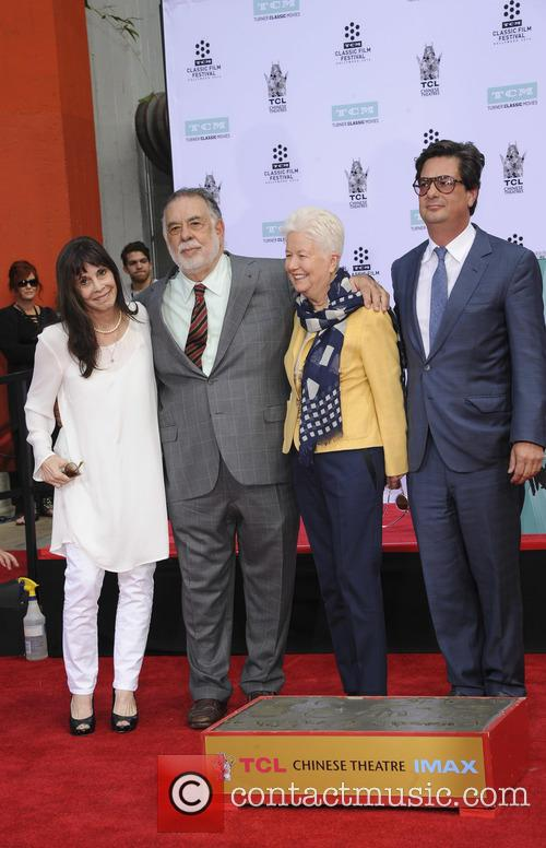 Francis Ford Coppola, Eleanor Coppola, Talia Shire and Roman Coppola 1
