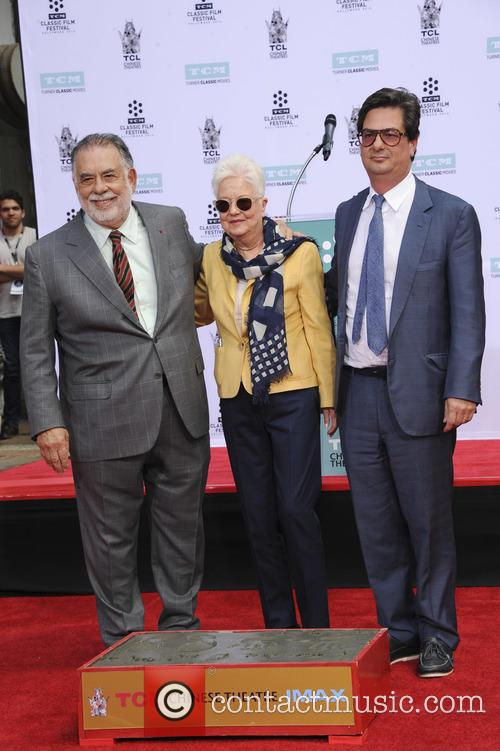 Francis Ford Coppola, Eleanor Coppola and Roman Coppola 2