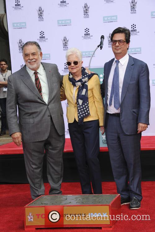 Francis Ford Coppola, Eleanor Coppola and Roman Coppola 2