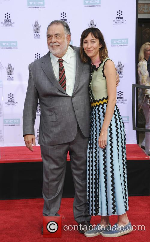 Gia Coppola and Francis Ford Coppola 1