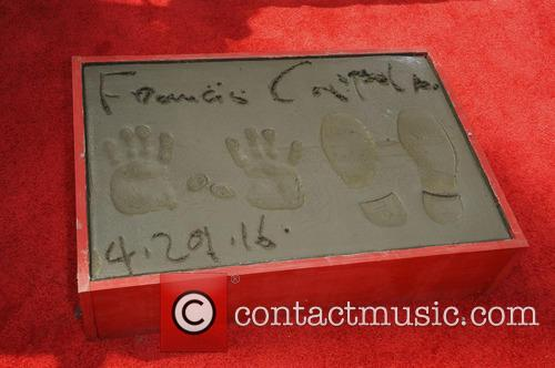 Hand And Footprint Ceremony of Francis Ford Coppola