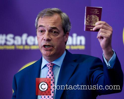 Nigel Farage and Leader Of The Uk Independence Party (ukip) 2