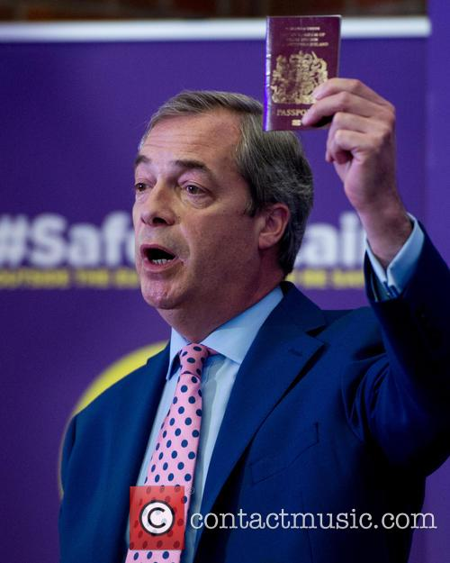 Nigel Farage and Leader Of The Uk Independence Party (ukip) 3