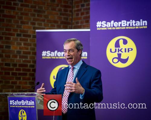 Nigel Farage and Leader Of The Uk Independence Party (ukip) 4