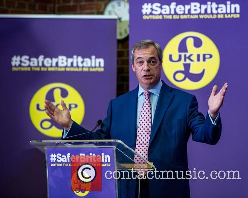 Nigel Farage and Leader Of The Uk Independence Party (ukip) 5