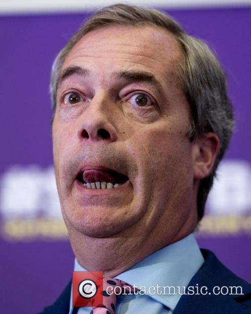 Nigel Farage and Leader Of The Uk Independence Party (ukip) 6