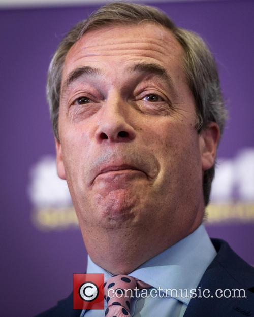 Nigel Farage and Leader Of The Uk Independence Party (ukip) 7