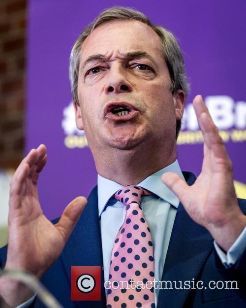 Nigel Farage and Leader Of The Uk Independence Party (ukip) 8