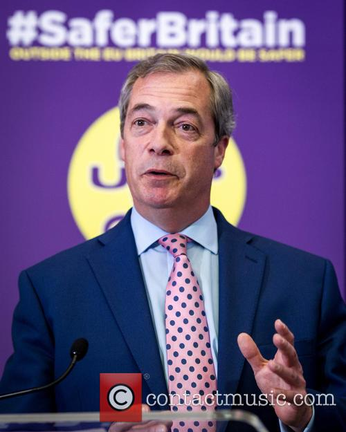 Nigel Farage and Leader Of The Uk Independence Party (ukip) 9