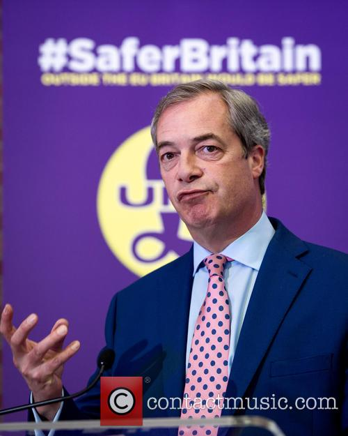 Nigel Farage and Leader Of The Uk Independence Party (ukip) 10