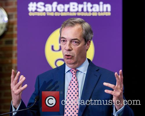 Nigel Farage and Leader Of The Uk Independence Party (ukip) 11