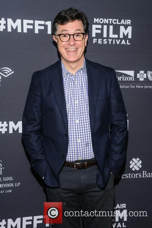Stephen Colbert pictured at 'Life' screening