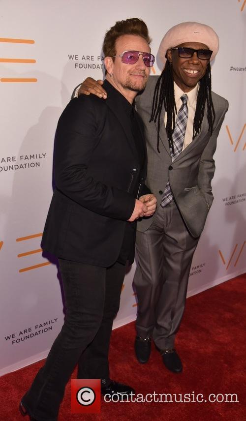 Bono and Nile Rogers 2
