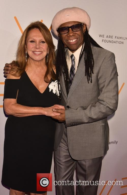 Marlo Thomas and Nile Rodgers 1