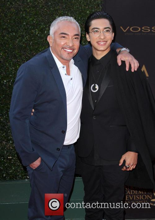 Cesar Millan and Calvin Millan
