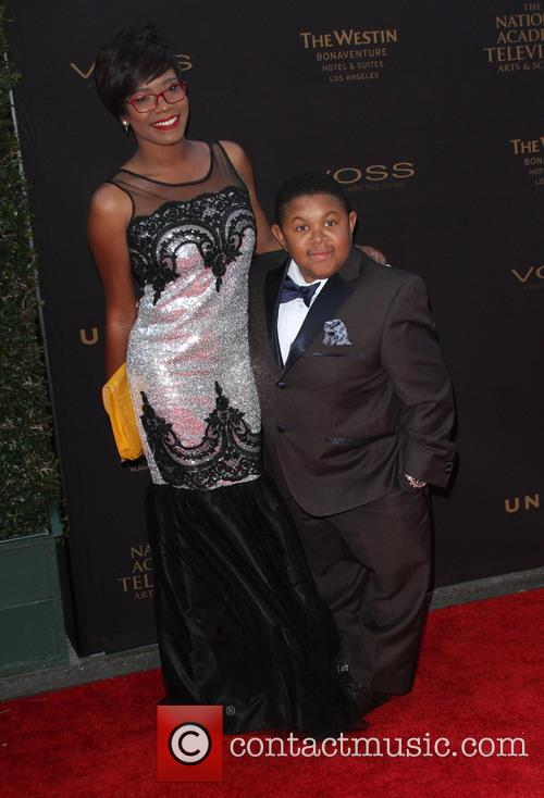 Ebonice Atkins and Emmanuel Lewis