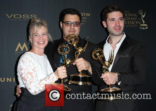 Mary Beth Evans, Matthew Ashford, Gregori J. Martin and Kristos Andrews 8