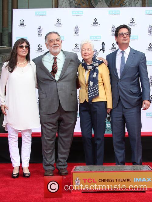 Talia Shire, Francis Ford Coppola, Eleanor Coppola and Roman Coppola 2