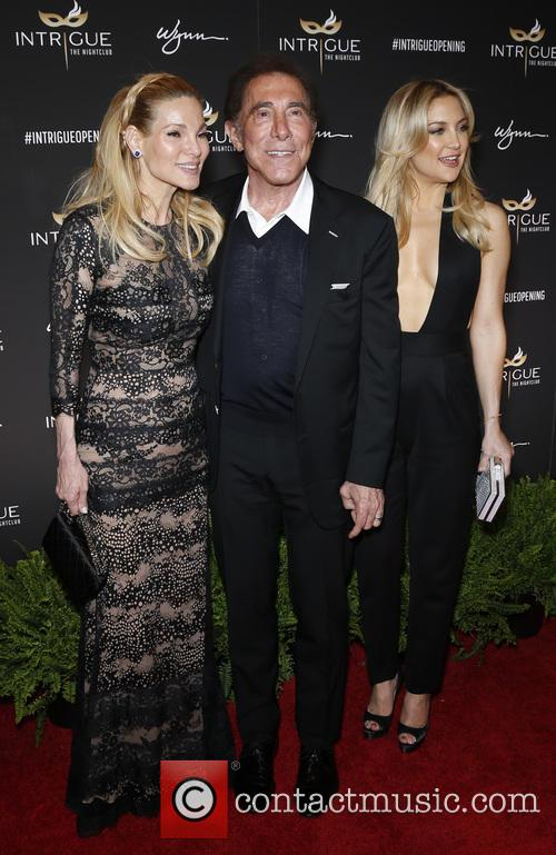 Andrea Wynn, Steve Wynn and Kate Hudson