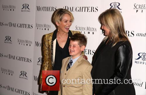 Sharon Stone, Laird Stone and Kelly Stone 3