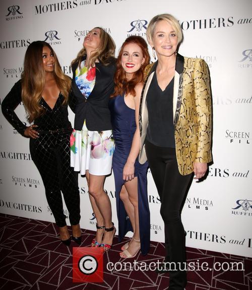 Ashanti, Mira Sorvino, Alexandra Daniels and Sharon Stone 2