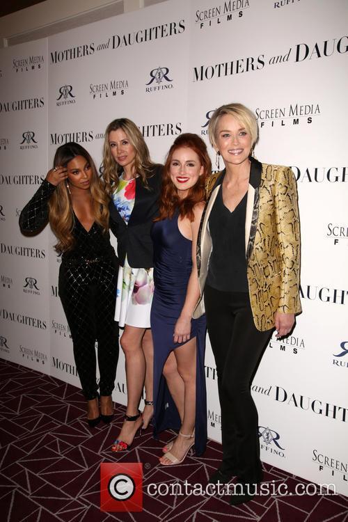 Ashanti, Mira Sorvino, Alexandra Daniels and Sharon Stone 7