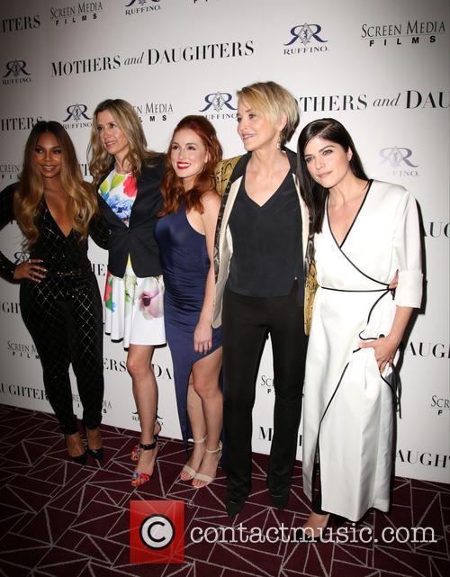 Ashanti, Mira Sorvino, Alexandra Daniels, Sharon Stone and Selma Blair 11