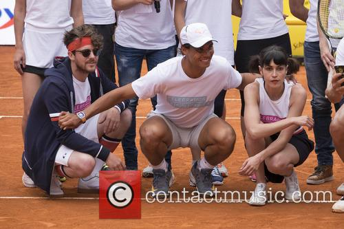 Rafael Nadal and Nerea Barros 11