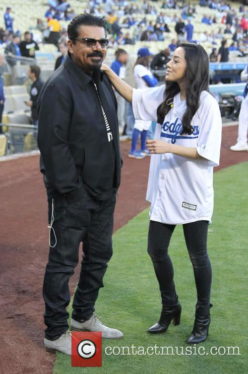 George Lopez and Aimee Garcia 2