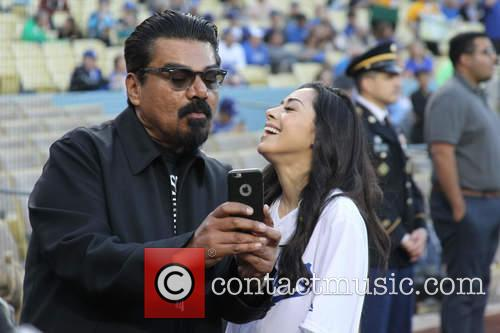 George Lopez and Aimee Garcia 3