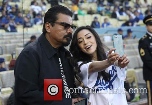 George Lopez and Aimee Garcia 5
