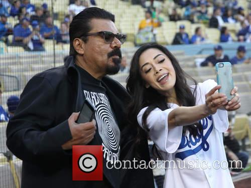 George Lopez and Aimee Garcia 6