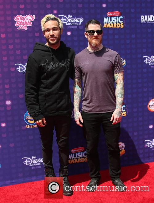 Pete Wentz, Andy Hurley and Fall Out Boy 4