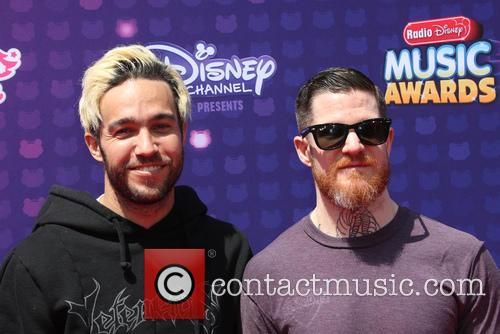 Pete Wentz, Andy Hurley and Fall Out Boy 6