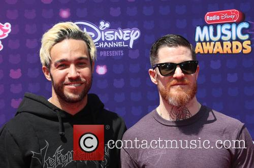 Pete Wentz, Andy Hurley and Fall Out Boy 7