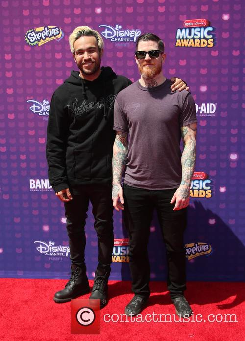 Pete Wentz, Andy Hurley and Fall Out Boy 10