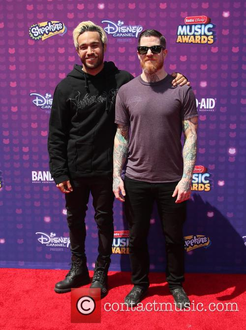 Pete Wentz, Andy Hurley and Fall Out Boy 11
