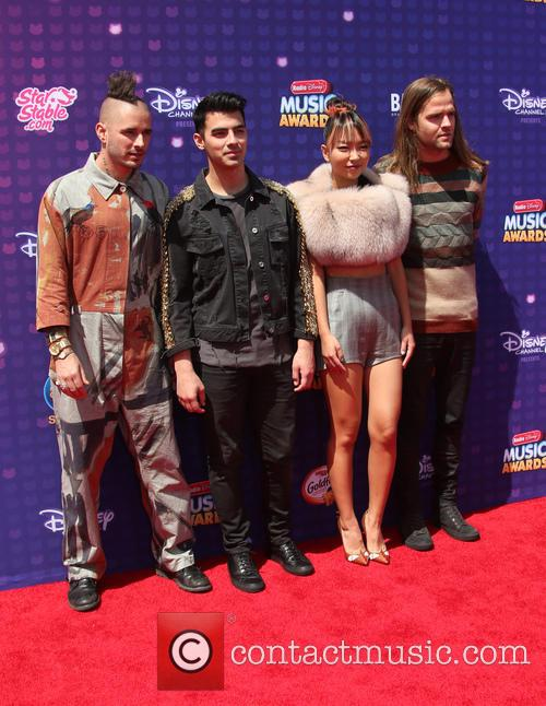Joe Jonas, Cole Whittle, Jack Lawless and Jinjoo Lee 1