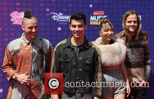 Joe Jonas, Cole Whittle, Jack Lawless and Jinjoo Lee 4
